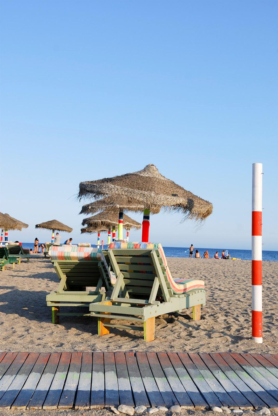 almeria beach spain roquetas mar coast