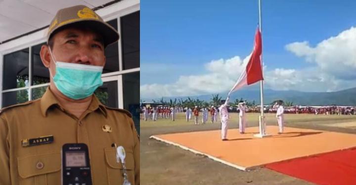 Perayaan HUT RI ke-76, Ini Himbauan Sekda Asraf  Pada Warga
