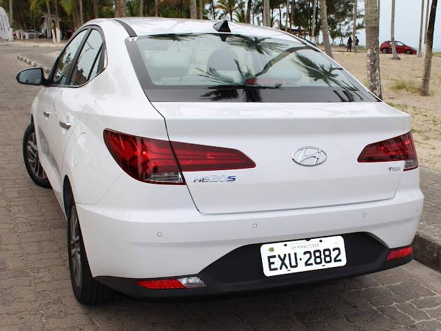 Novo Hyundai HB20S (Sedã) 2020 - lanternas traseiras
