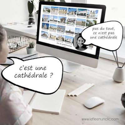 fle, le FLE en un 'clic', cathédrales françaises, monuments français