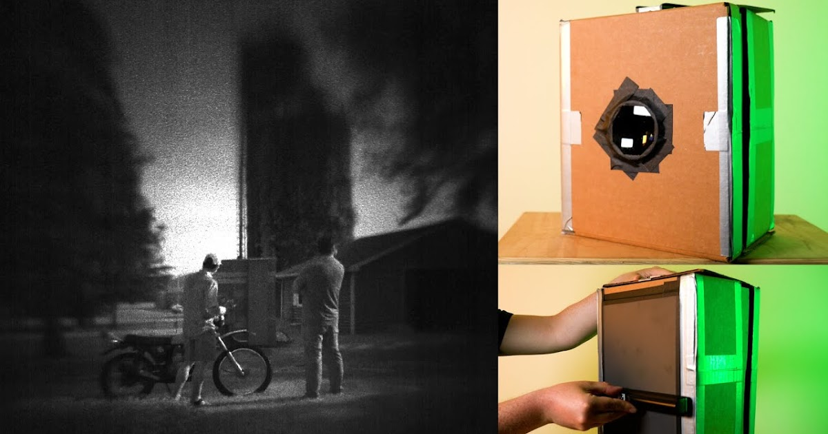 Building a Large Format Digital Scanner Camera Obscura!