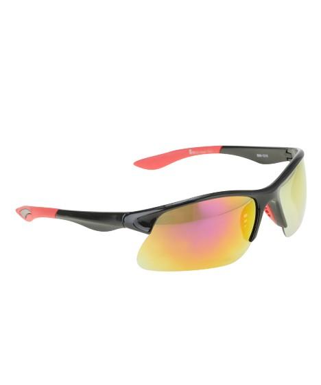 óculos retangular oneself preto