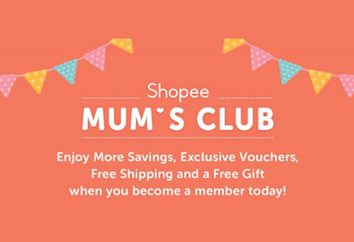 SHOPEE MUM'S CLUB - VIRTUAL SUPPORT GROUP FOR MOTHER'S