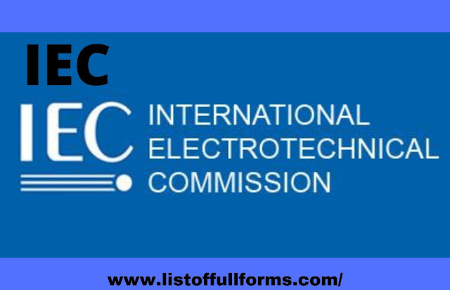 IEC full form