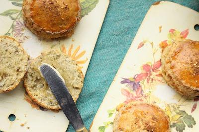scones recette fromage bleu