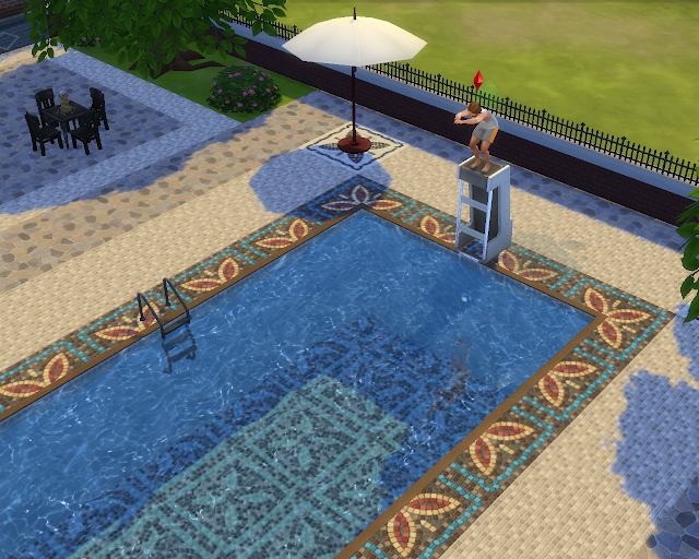 The sims 4 | Neighbor Pools