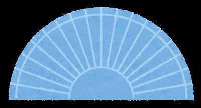 分度器のイラスト(文房具)