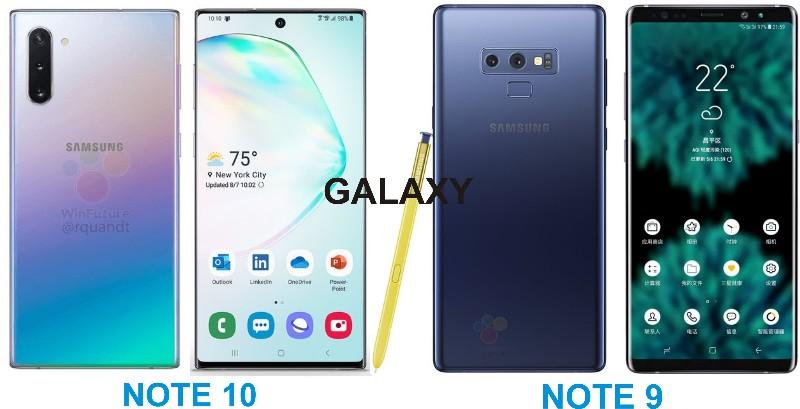 galaxy-note-10-vs-galaxy-note-9