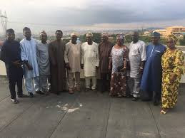 Afenifere Leaders in Serious Meeting with Obasanjo... may agree on Atiku