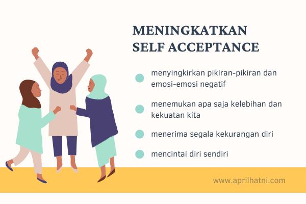 cara meningkatkan self acceptance