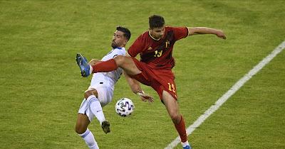 ملخص واهداف مباراة بلجيكا واليونان (1-1) مباراة الودية