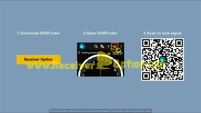 MONTAGE CS8001 4MB NEW SOFTWARE WITHOUT QR CODE & DOLBY AUDIO, AUTO ROLL BISS KEY OPTION