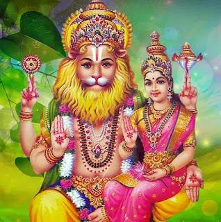 Sri Shodasha Bahu Narasimha Ashtakam