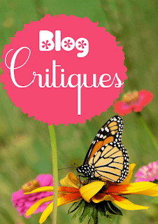 Blog Critiques text plus butterfly - photo from https://www.mostlyblogging.com/blog-critiques/