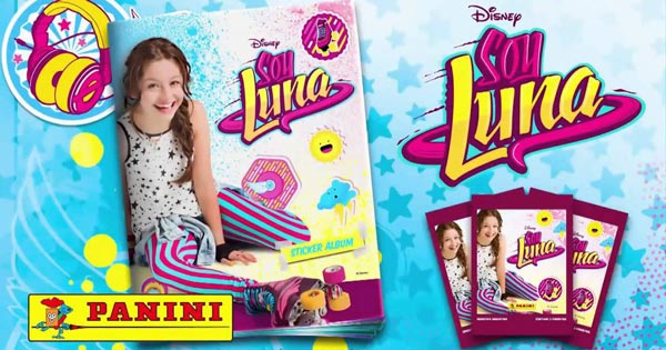 1 Album Disney Soy Luna Gratuit de Panini avec livraison gratuite !