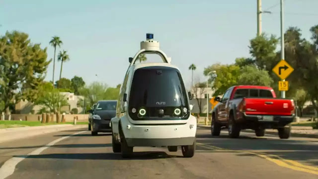Nuro Robots will Drive Food and Medicine to your Home in 2021