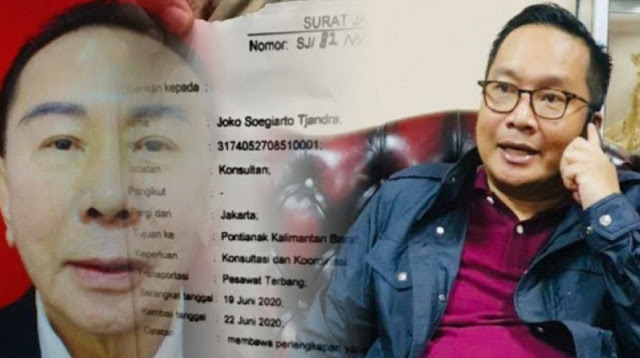 Surat Jalan Djoko Tjandra polisi