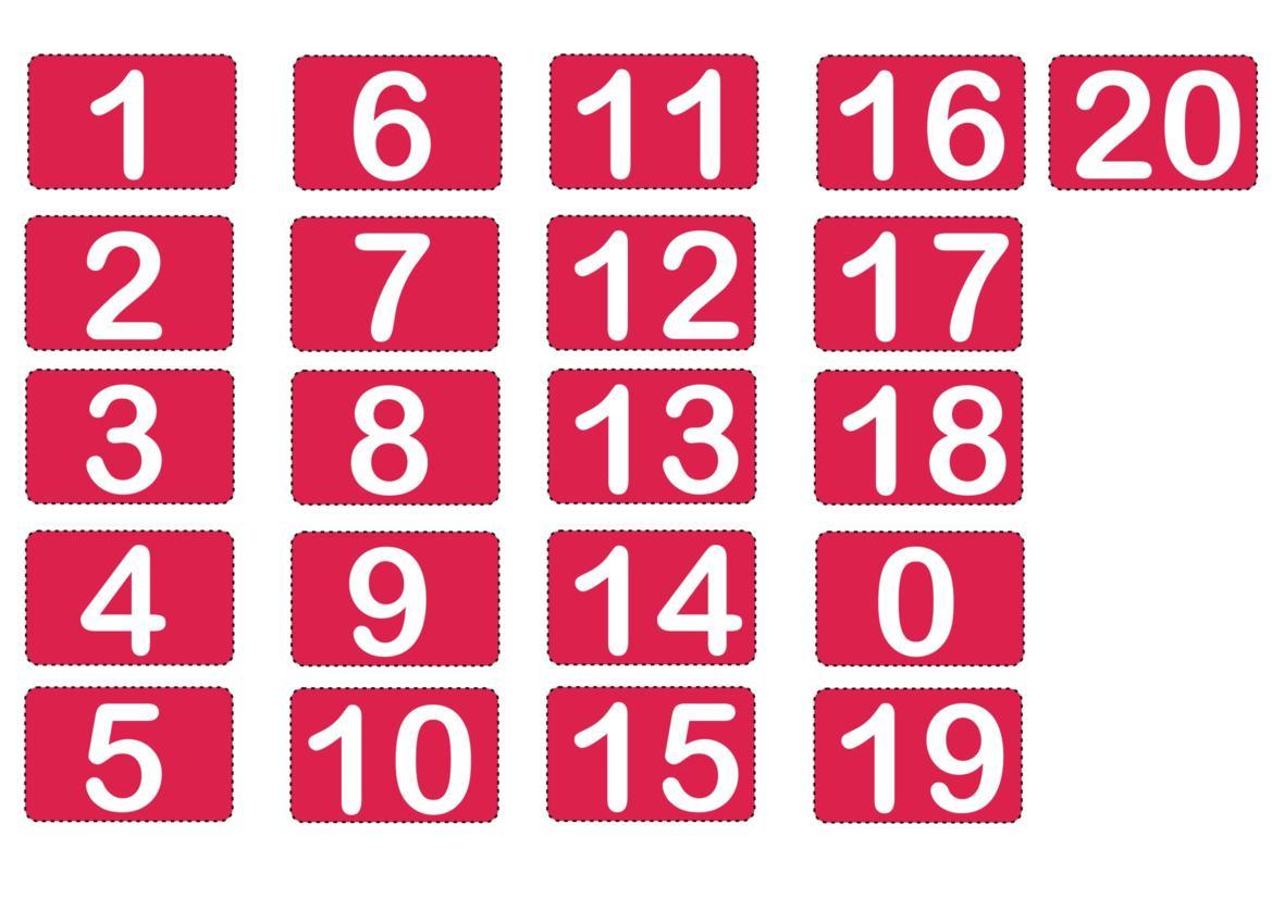 0 A 10 Vga Wiring Diagram Numerais 20 Joguinho Pedagógico Ideia Criativa