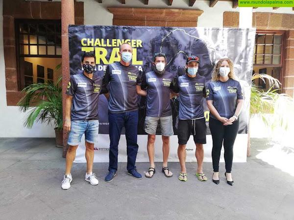 Los atletas Tito Parra y Sergio Luis Tejero se dan cita en el reto deportivo Challenger Trail La Palma