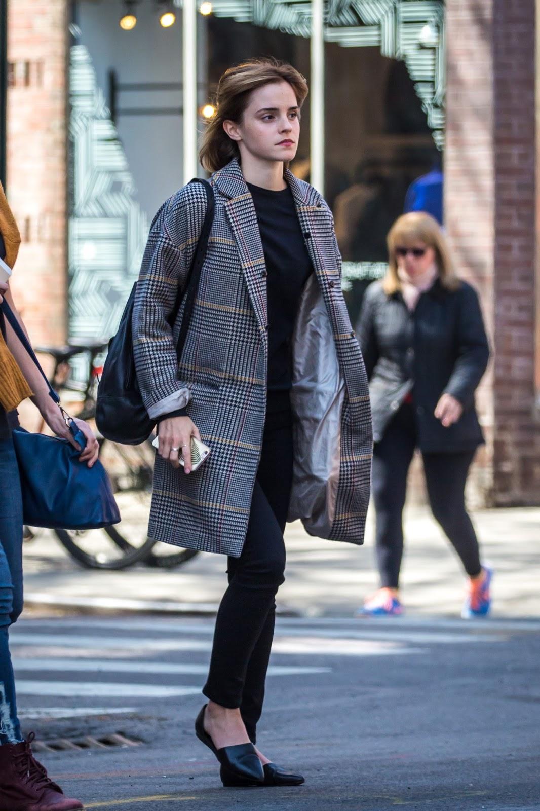 Emma Watson Updates Emma Watson in NYC April 27 2016