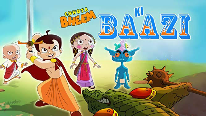 Chhota Bheem Ki Baazi Full Movie  Images In 720P