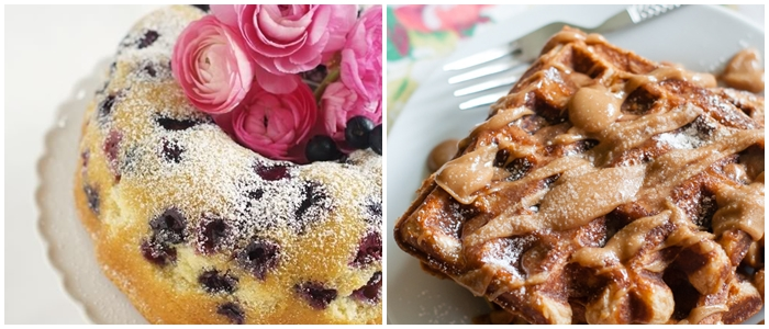 Bake at 350 recipe index: breakfast recipes