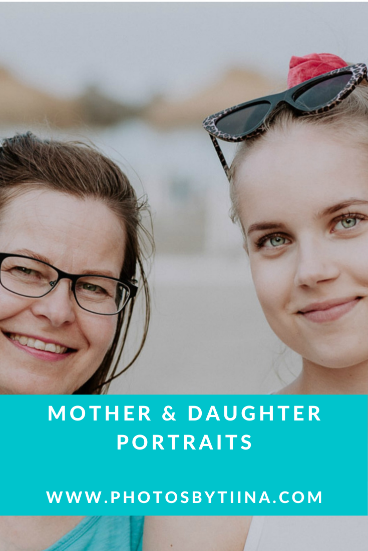 Mother and daughter photography in Fuengirola