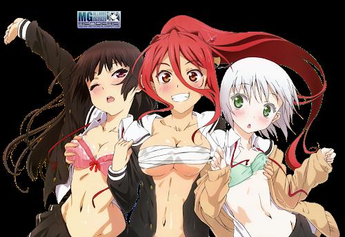 Onii-chan dakedo Ai sae Areba Kankei nai yo ne - Himenokouji Akiko, Nikaido Arashi y Sawatari Haruomi Render 1