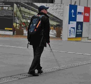 AI-powered backpack
