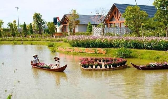 Khu du lịch Vườn hồng Tư Tôn Sa Đéc