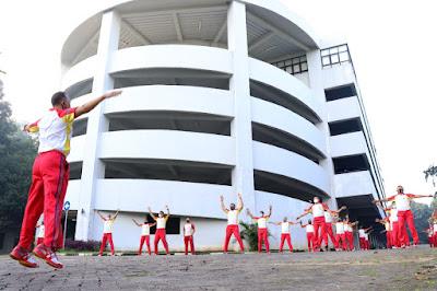 Pangkogabwilhan II Ajak Prajuritnya Olahraga Bersama Disaat Pandemi Covid-19