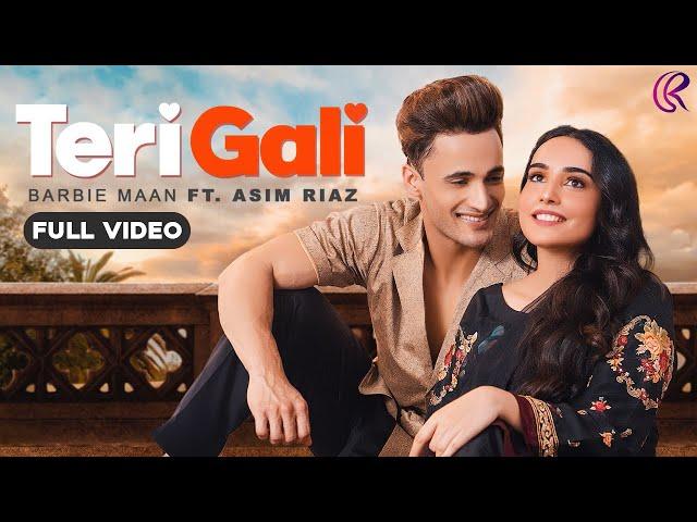 Teri Gali Lyrics - Barbie Maan  Asim Riaz