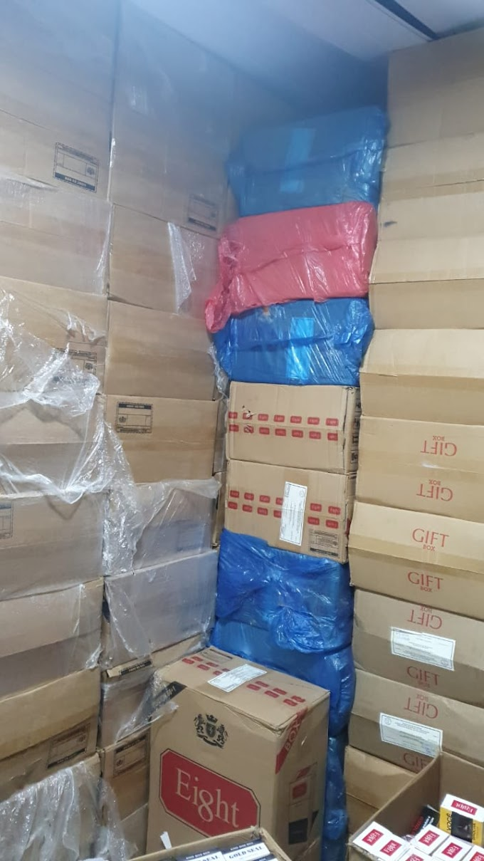 Mercadorias contrabandeadas, munições de arma de fogo e outros matériais foram localizados pela Polícia Militar,  em Caruaru.