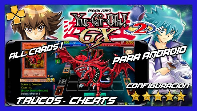 Yu-Gi-Oh! GX TAG FORCE 2 PSP PARA ANDROID Y PC [ROM] [ISO] [SAVEDATA] [PPSSPP]