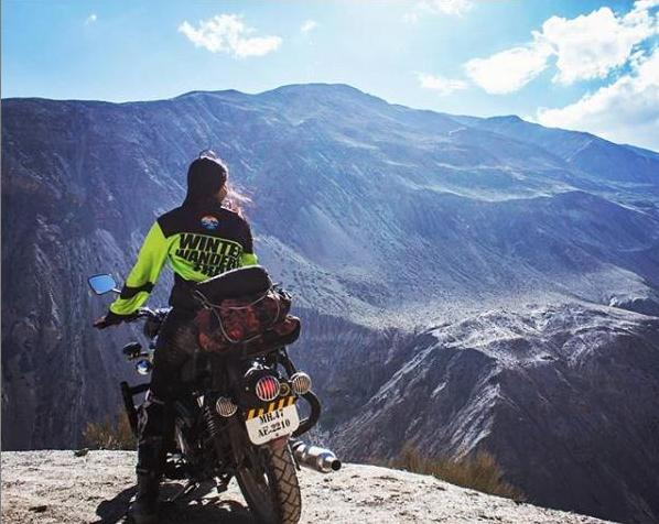FIRST YOUNGEST WOMEN RIDE  SACH PASS AND SPITI VALLEY ON ROYAL ENFIELD 500 | DIMPLE SINGH