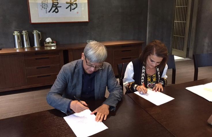 Σύμφωνο Συνεργασίας του Μουσείου Μετάξης Σουφλίου του ΠΙΟΠ με το Εθνικό Μουσείο Μετάξης της Κίνας