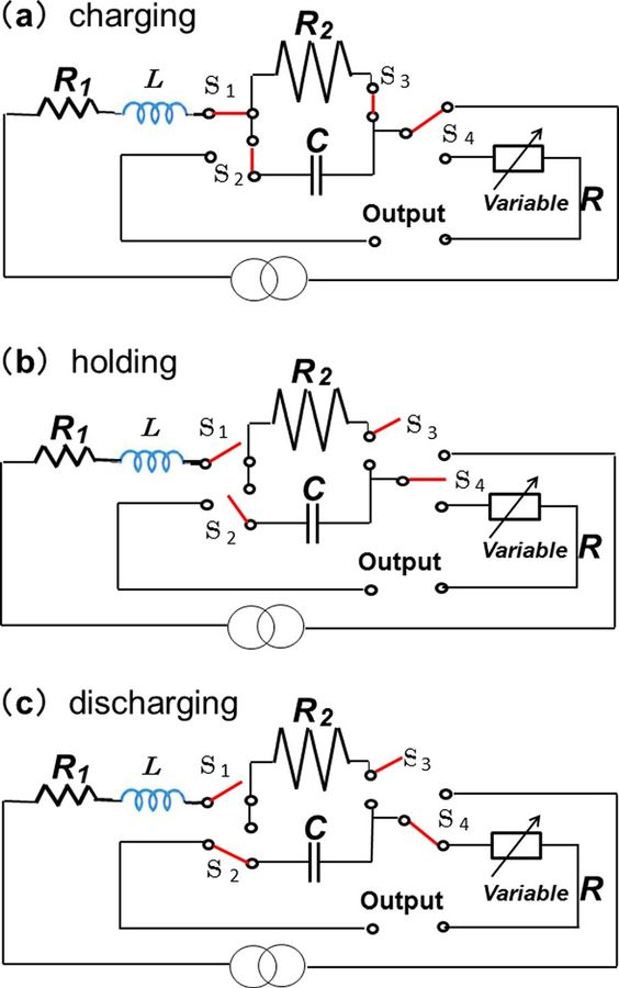 electrical and electronics engineering  charging diagrams
