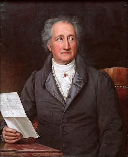 Porträt Goethe
