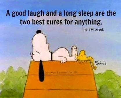 irish quote, snoopy,