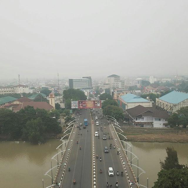 Jihar News, Seluruh Daerah Di Aceh Diselimuti Kabut Asap