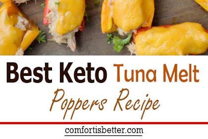 Best Keto Tuna Melt Poppers Recipe
