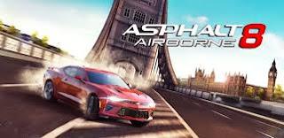ကားၿပိဳင္ေမာင္း ဂိမ္းေကာင္းေလး - Asphalt 8: Airborne v2.5.0k [Mega Mod] Apk