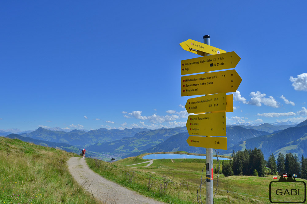 Austria Alpy Hohe Salve