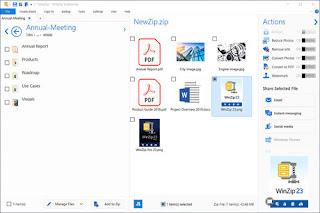 تحميل برنامج فك ضغط الملفات WinZip اخر اصدار