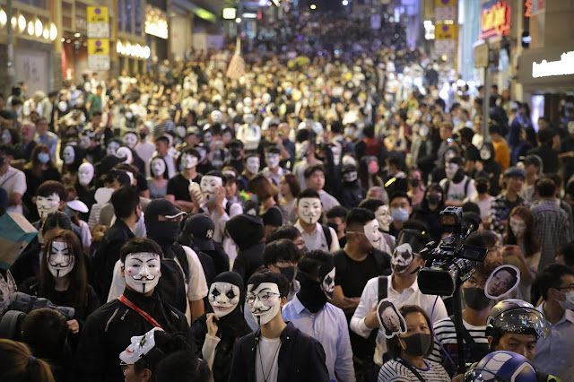 There is increasing hatred for the people of China in Hong Kong