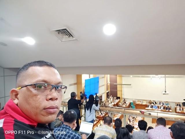 JMG Dengarkan Rapat Dengar Pendapat Komisi III DPR RI Dengan Koplri dan Kapolda Se-Indonesia