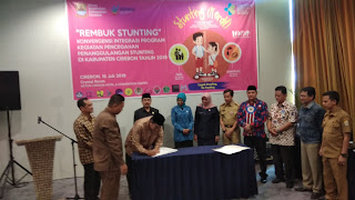 Rempug Stunting, Pemkab Cirebon Ingin Dikerjakan Bersama