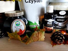 zdrowa żywność - czystek - żurawina - syrop klonowy - olej kokosowy - Vivio