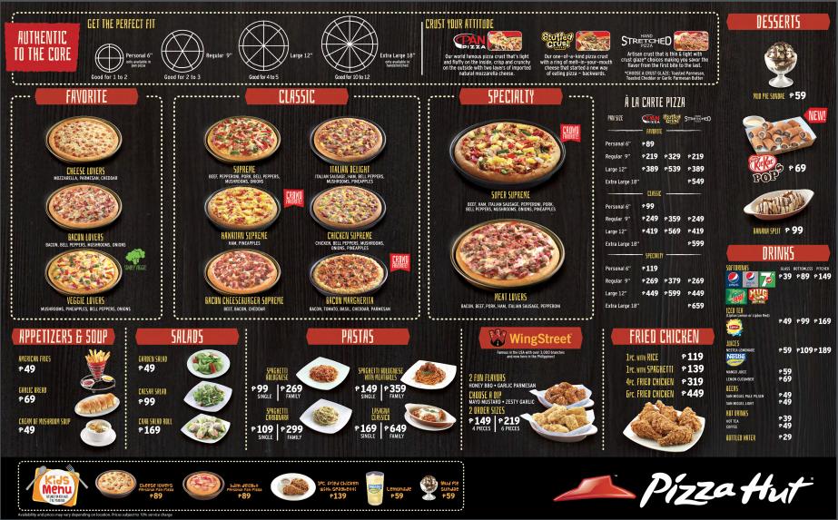 Philippines Promo Pizza 159 Hut