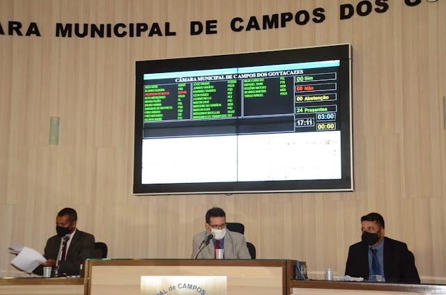 Câmara de Campos retoma sessões